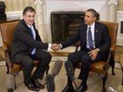 Strangely enough, Obama praises Russia's sworn enemy