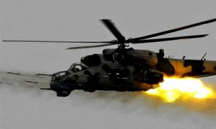 In Ukraine, combat helicopter attacks Poroshenko's neighbors