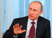 Putin: 'We are not afraid of anyone'