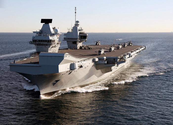 Russian spy ships intercept UK's largest flotilla