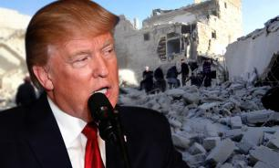 The United States of America commits a terrorist act in Syria