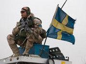 Politically neutral Sweden thirsty for war