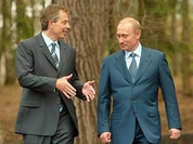 Putin OKs Tony Blair's G8 suggestions