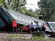 Investigators perplexed with explosion of Grozny-Moscow train