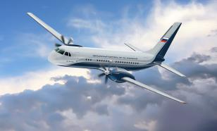 New Russian passenger plane Il-114-300 takes off for first flight