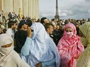 Burqa serves as protection rather than weapon