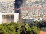 Dozens killed, balance attacks military base near Damascus