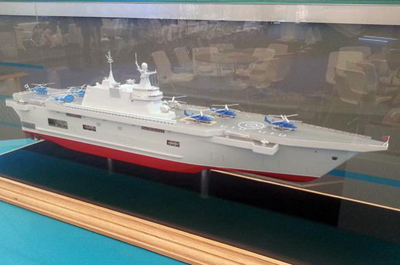 Russia refuses to build helicopter carriers, but considers aircraft carriers
