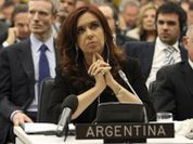 Argentina slaps Britain very carefully, yet hopefully