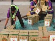 In Ethiopia, emergency food aid from China