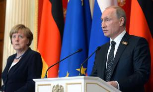 Putin sets Merkel against Trump. She doesn't mind