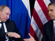 Obama and Putin enjoy the silence