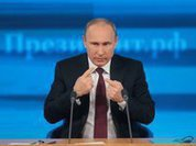 Vladimir Putin sums up results of 2013 in 9th press conference