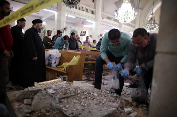 Who is behind bloody Palm Sunday in Egypt