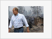 Putin Arrives in Center of Summer Hell