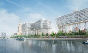 Floating buildings to appear in the heart of Moscow