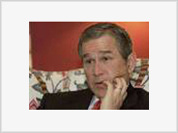 Bush: Alone, isolated and universally hated