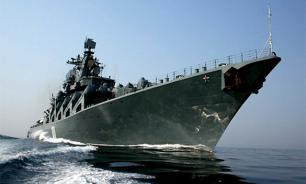 Russia's Pacific Fleet flagship Varyag arrives at South Korea port of Pusan