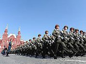 Who's unhappy with Victory parades in Moscow?