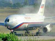 The plane with Russian top officials performs emergency landing in India