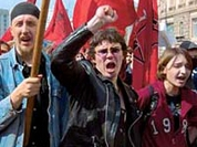 May 1 – demonstrations all over Moscow