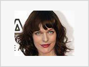 Actress and model Milla Jovovich expecting her first baby