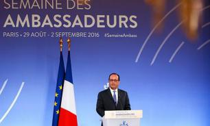 French President Hollande hopes to bury the hatchet with Russia