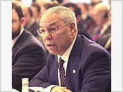 Russia, Colin Powell spar on OSCE's double standards issue