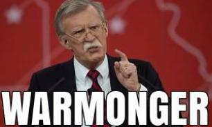 Trump Chooses Warmonger Bolton