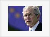 Bush in Europe tries to save the West from collapse