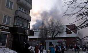 Kemerovo shopping center fire: Death toll exceeds 60, many children killed