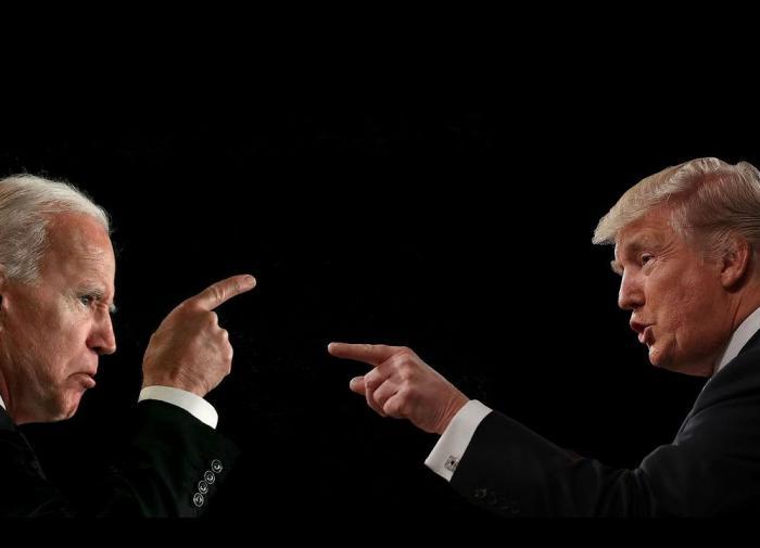American Democracy on Trial: Trump vs. Biden