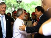 """""""My candidate is Dilma,"""" says Chavez"""
