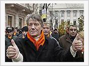Yushchenko attacked by ghosts