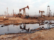 Russia is inundated with oil