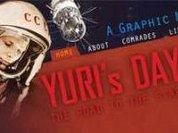 Yuri Gagarin goes comic