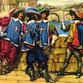 Duma's Musketeers were no fiction?