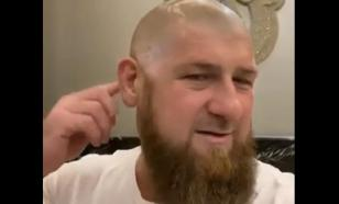 Chechen President Kadyrov shaves his head in quarantine