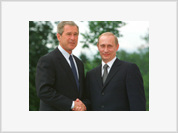 Putin and Bush to meet for 1 hour at Moscow airport to discuss Russia's WTO bid