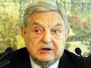 George Soros always there, where weak president is