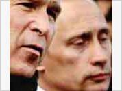 Putin contacts Bush on secret phone channels