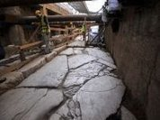 Subway project reveals ancient thousand-year-old road in Greece