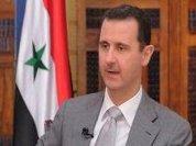 President Assad speaks
