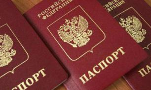 Russia pays no mind to Ukraine's protest about Russian passports
