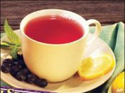 Drinking tea with meals is healthier