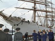 USA to arrest world's largest sailing ship because of Jewish books