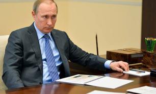 Putin condemns Europe