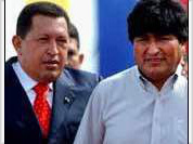 Evo's inauguration revives Latin American leftist spirit