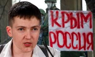 Savchenko: WWIII will return Crimea to Ukraine
