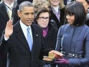 Inauguration Day: Two Nobel Laureates, Drones Apart